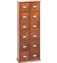Apothecary Media Cabinet in Media Storage Cabinets